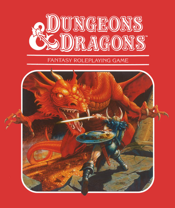 Dungeons and Dragons - Red Arrow Black Shield (Module X10) - 1985 COMPLETE - #9160