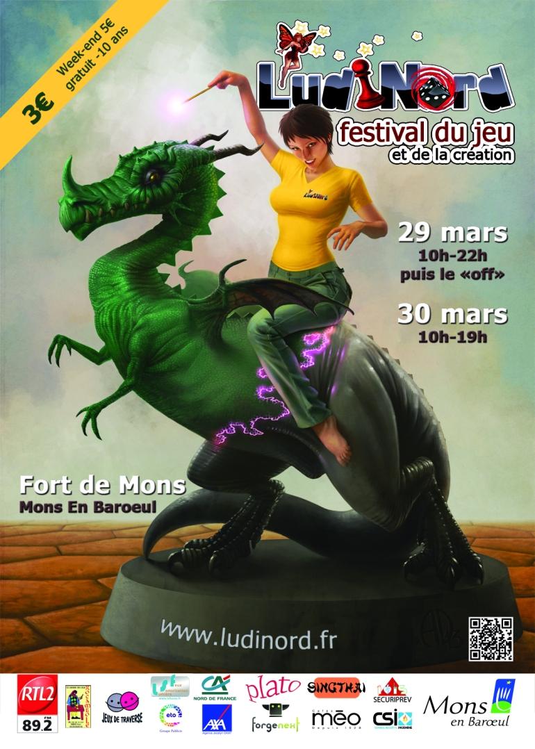 Affiche Ludinord 2014- 30pc
