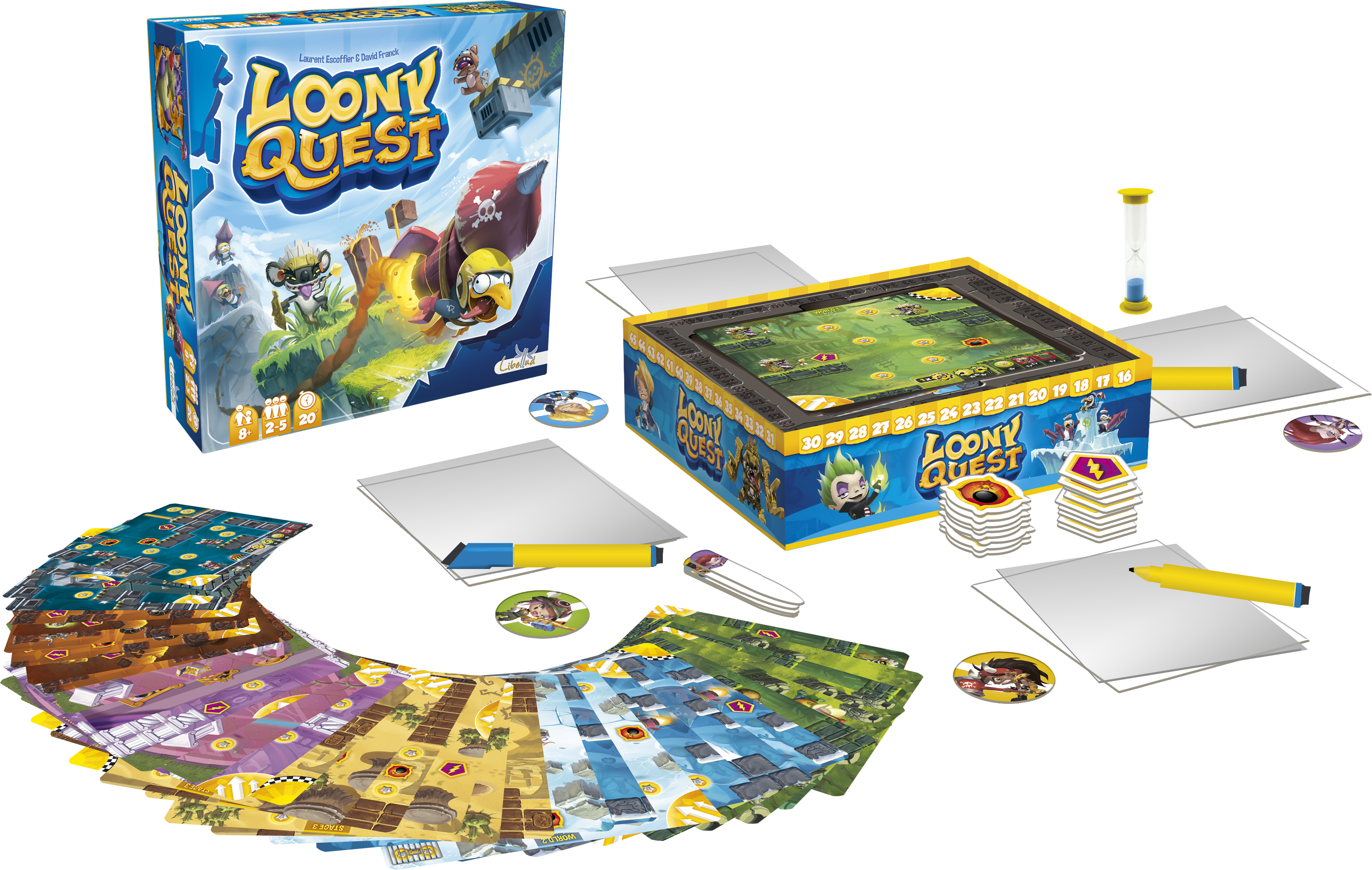 Loony Quest Boxeclate