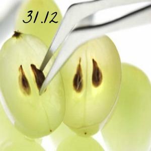 Manger 12 pépins de raisins au Réveillon porte chance