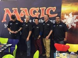 La team Hasbro à Essen