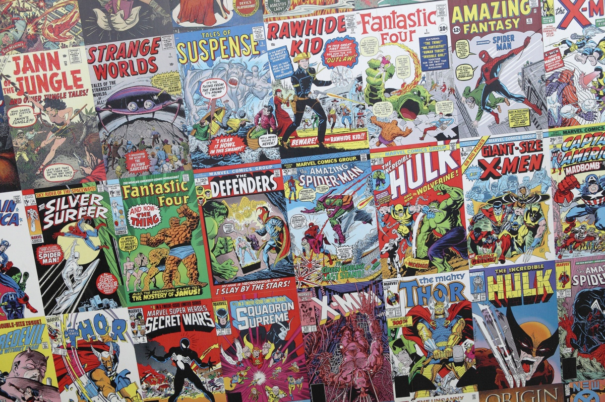 Comic Books, Flickr, CC, by Sam Howzit