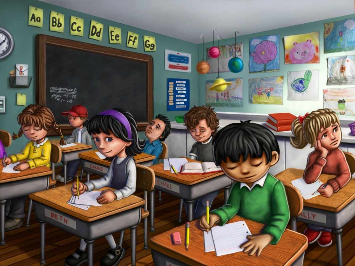 Ryan Jackson. The Classroom