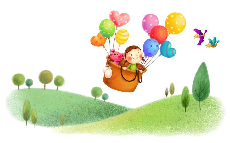 cartoon-flying-with-balloon-hd-desktop-wallpapers