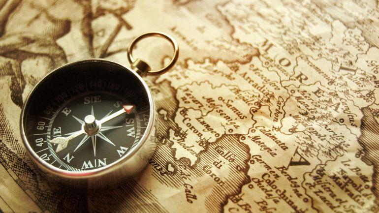 map-compass-travel-wallpaper