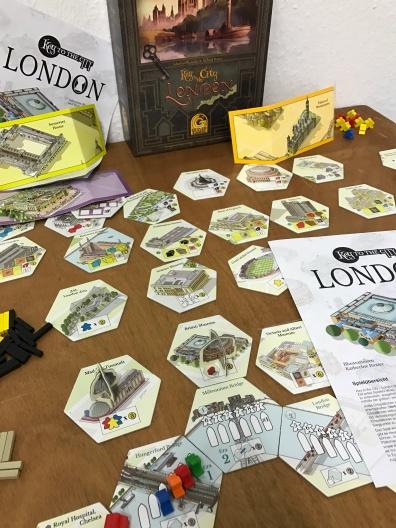 Keyflower mais à Londres